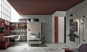 Tommy comp. 01, Teenager bedroom furniture
