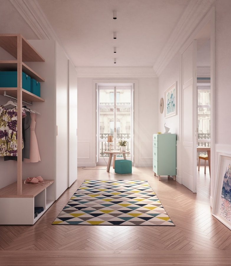 Young 1810, Modern kid bedroom with desk