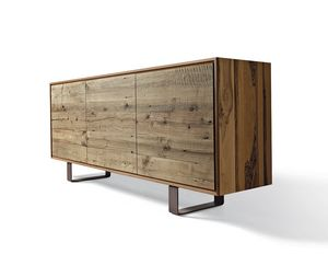 A-143, Sideboard with rough finish doors