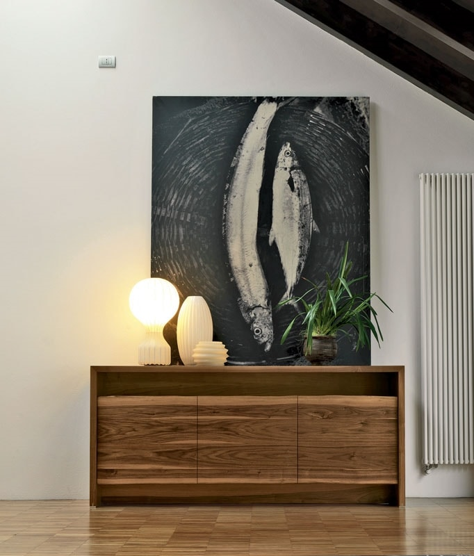 A-150, Wooden sideboard with a refined design