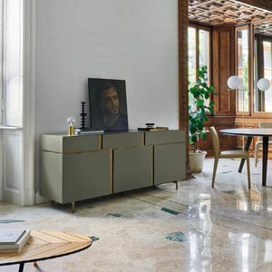 Abaco, Sideboard with dynamic design