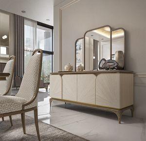 Alexander Art. A03, Elegant 4-door sideboard