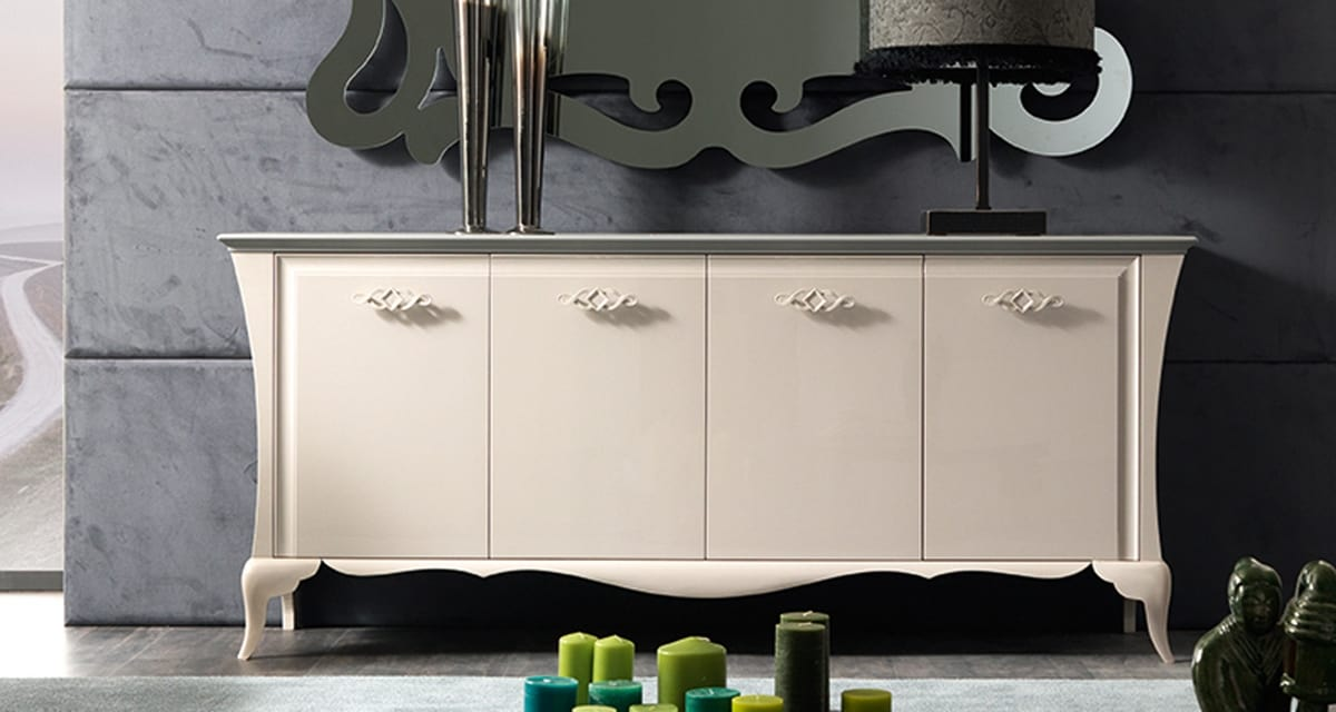 Alice Art. 763, Four-door sideboard with harmonious proportions