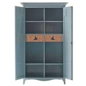 Art. AX113, Pantry in pastel color, with 2 doors