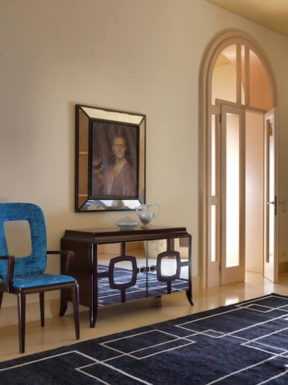 Art. VL117, Wooden sideboard with mirror doors