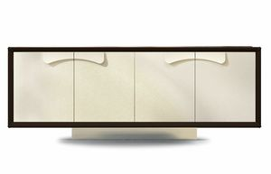 Astor, Sideboard with leather doors