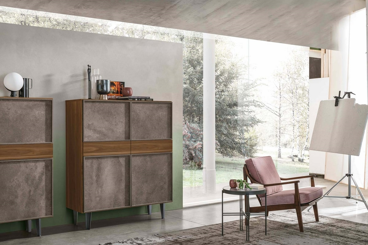 ASTRA MA114, Living room cabinet, with doors and drawers