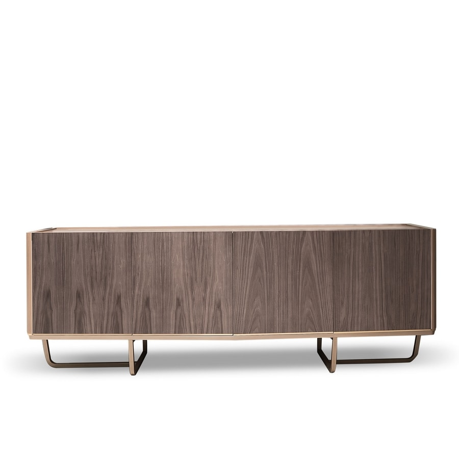 Beverly sideboard Art. 810, Sideboard with metal base