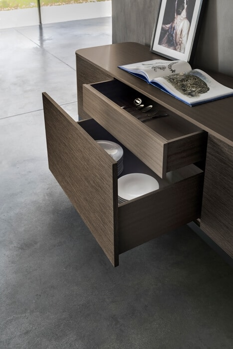 Bold Dining Cabinet, Sideboard with a modern design