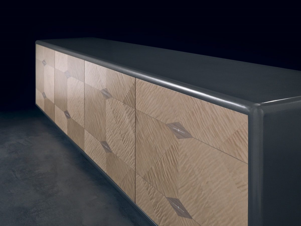 CR61 Desyo Lux sideboard, Low sideboard for living room