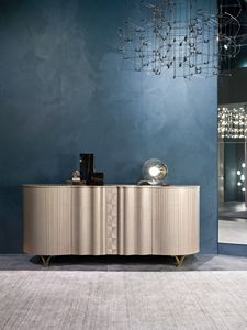 CR62 Mistral sideboard, High sideboard in Pama wood