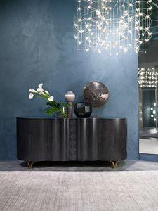 CR62B Mistral sideboard, High sideboard in dark frig� Sycomoro