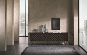 CR63B Square sideboard, Sideboard with a contemporary design