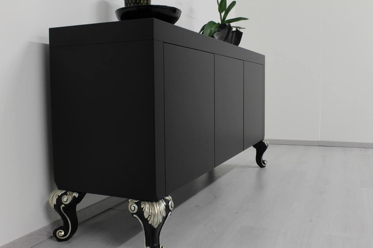 Cube, Cupboard with with push&pull doors, for living room