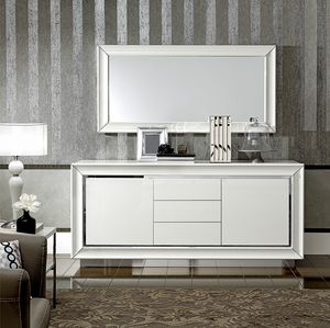 Dama Bianca sideboard, Sideboard with a refined design