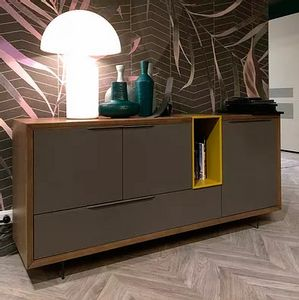 Desi Evo, Sideboard with a minimal design