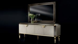 DIAMANTE 4 doors buffet, Sideboard for elegant dining rooms