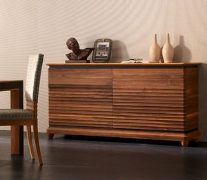 Elettra Art. EL102, Sideboard in wood with 2 doors and 2 drawers