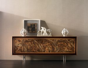 Elettra Art. EL501, Sideboard with walnut root front