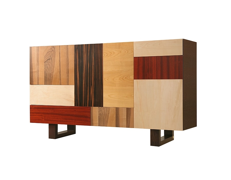 Fantesca 1703, Sideboard with mix of wood essences