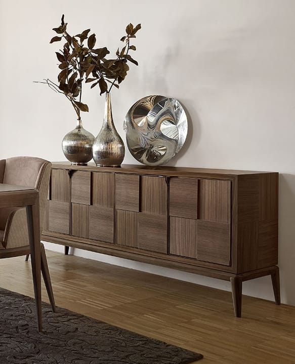 Fionn sideboard, Wooden sideboard for modern living room