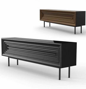 Frames Art. M01, Sideboard with geometrically decorated front