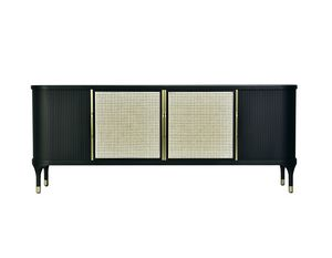 Joyce 1739/F, Sideboard with Vienna straw doors