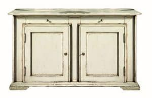 Juliane BR.0001.L, Brocantage sideboard with 2 doors, classic style