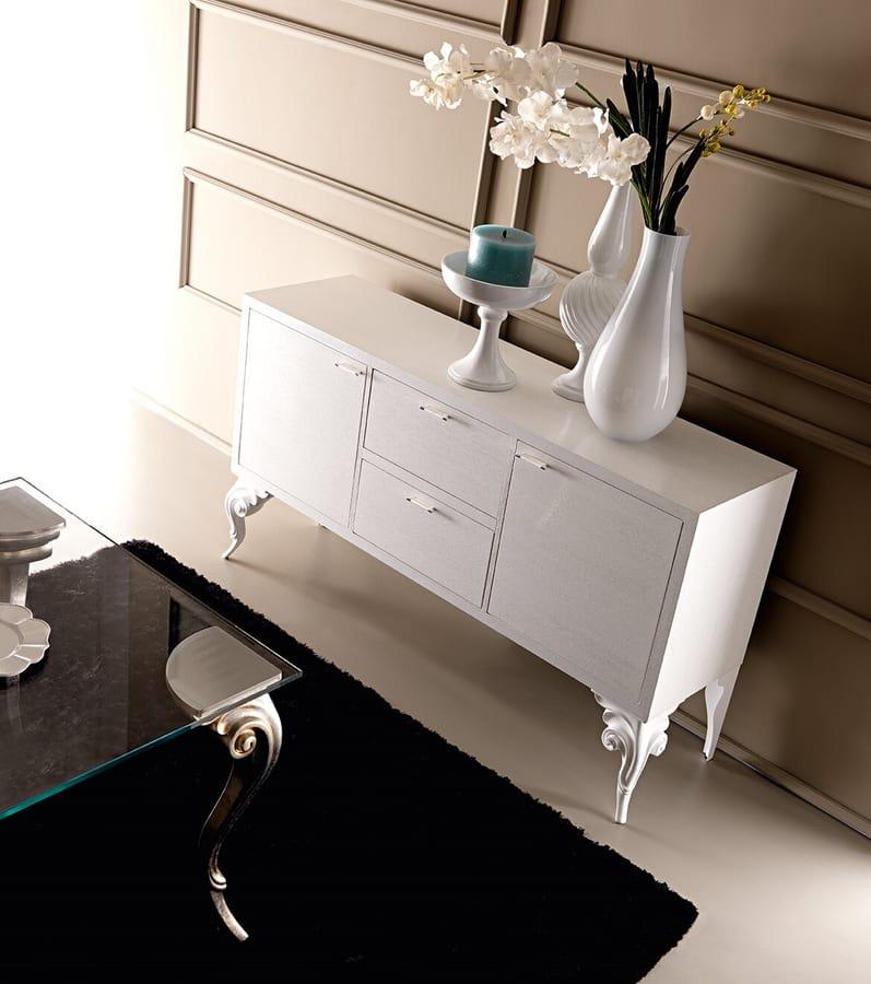 Keope Art. 406, Elegant wooden sideboard