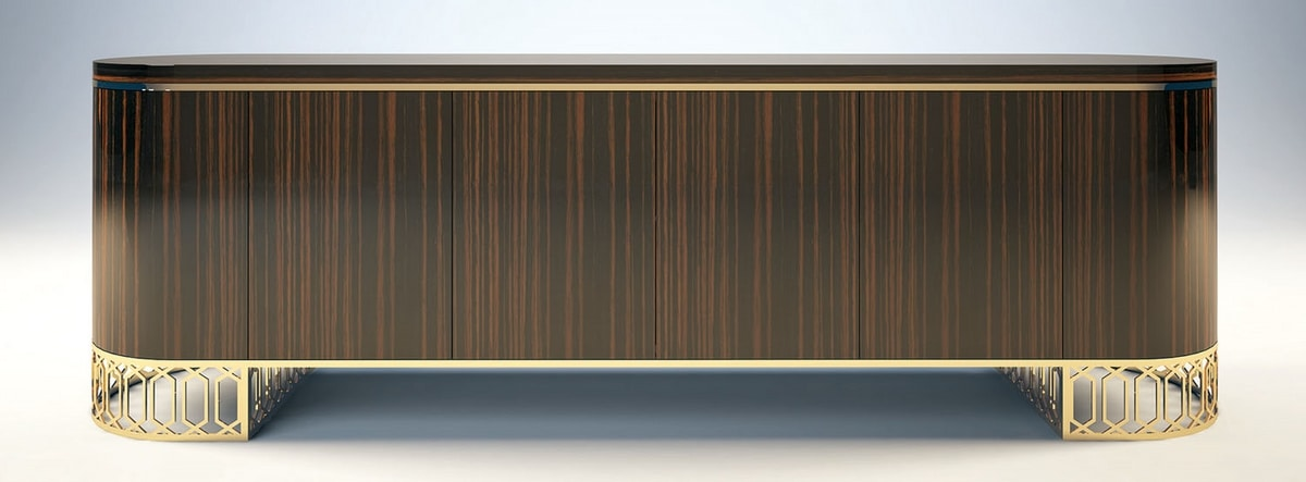 King, Sideboard with a rounded shapes