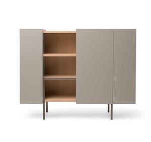 Ladin cupboard, Cabinet with sliding door
