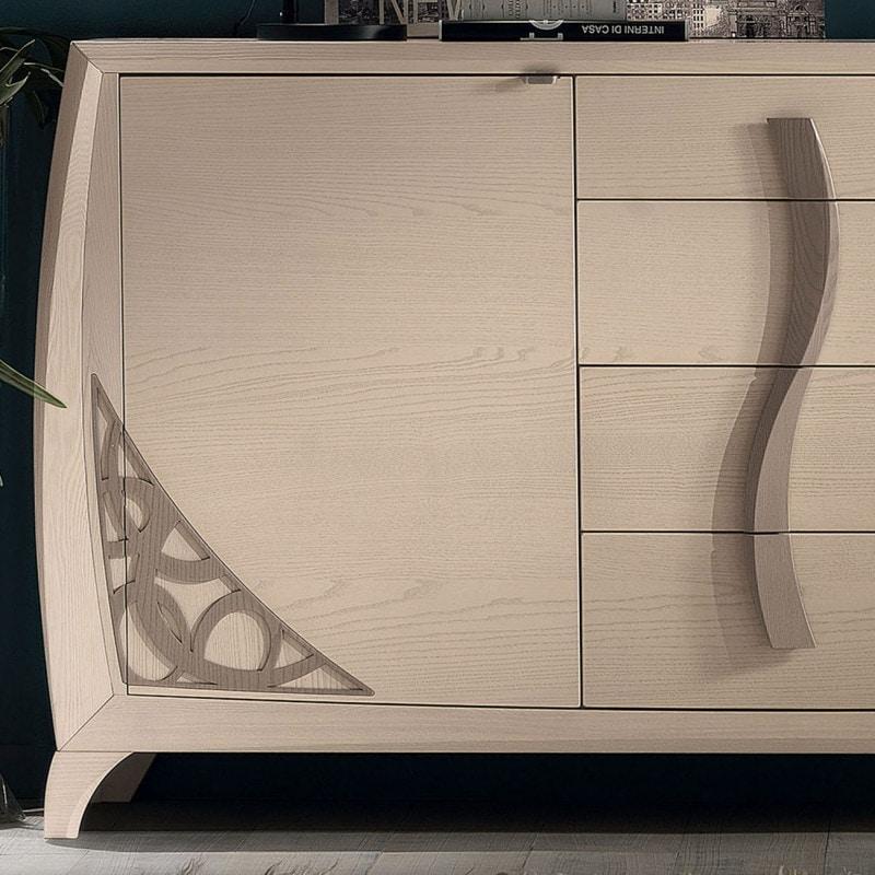 Luna LUNA5000, Elegant wooden sideboard
