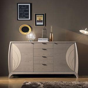 Luna LUNA5014, Modern wooden sideboard