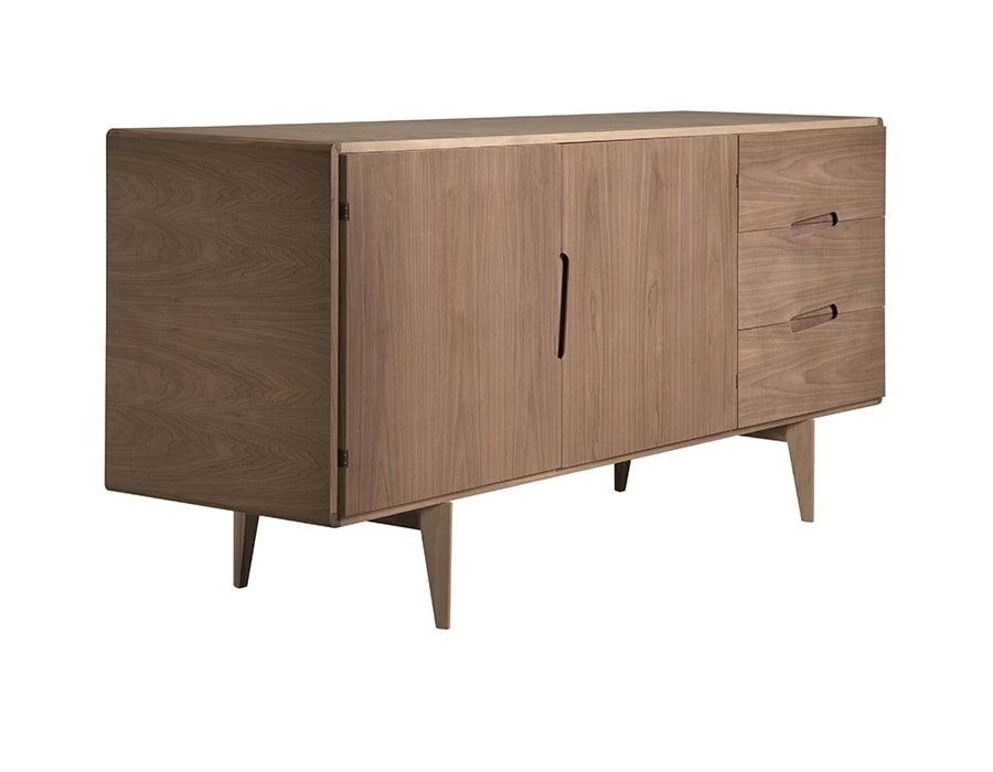 Malibù 1705/F, Sideboard in wood, with drawers