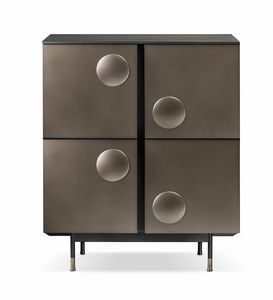 Melody cabinet, High cabinet with 4 doors