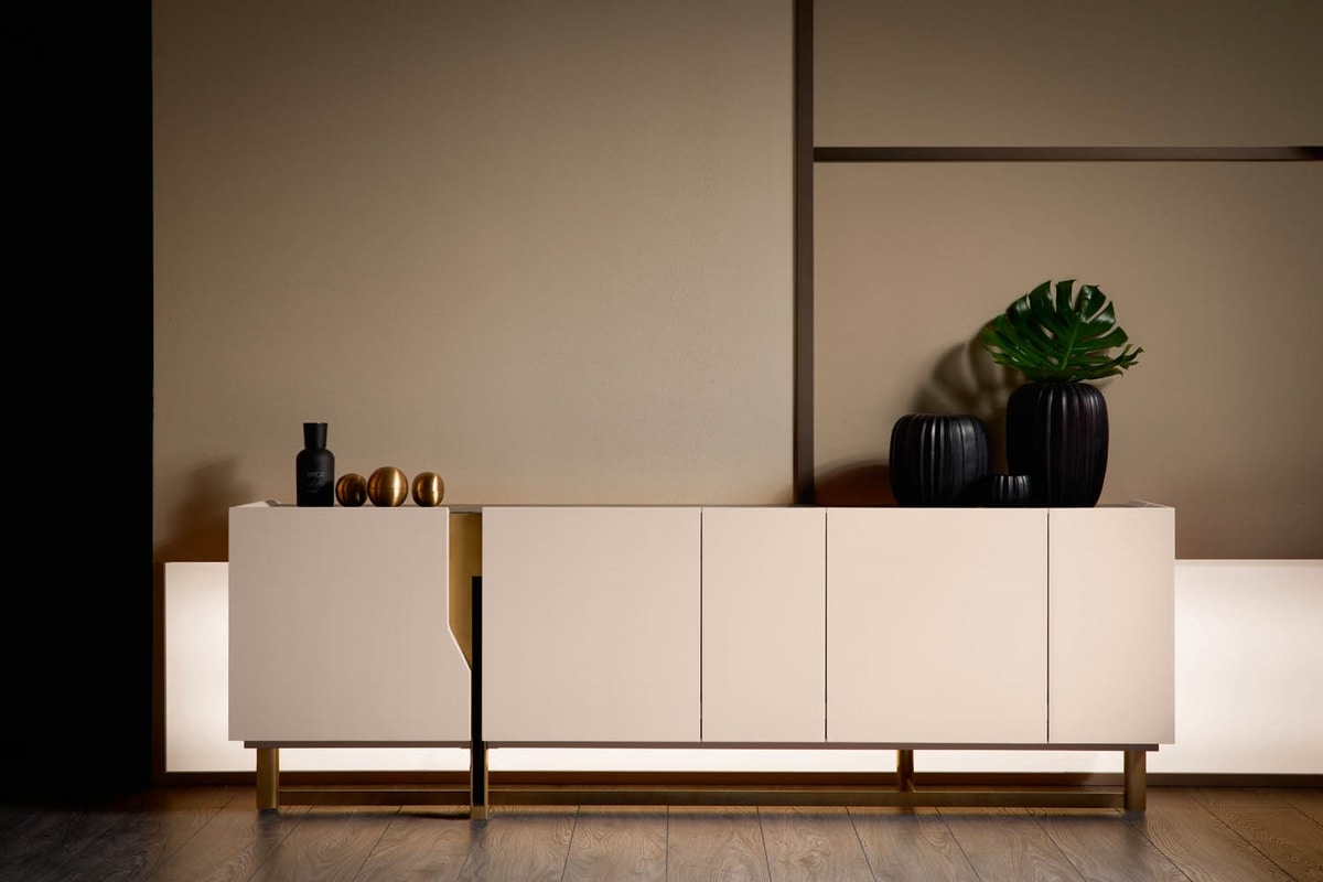 Mirage sideboard, Sideboard with refined design