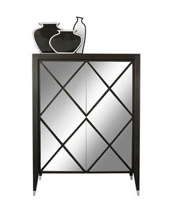 Mirror, Cabinet with mirrored doors
