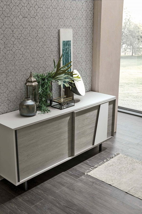 MODUS NEW MA110, Sideboard with two sliding doors
