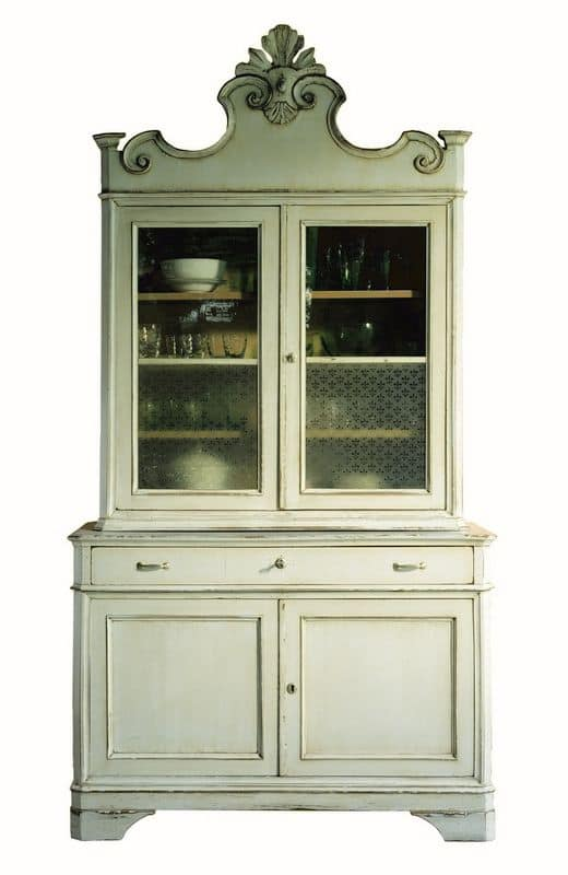 Monique BR.0053, Lacquered cupboard, classic style