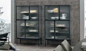 Nina, Sideboard with glass doors