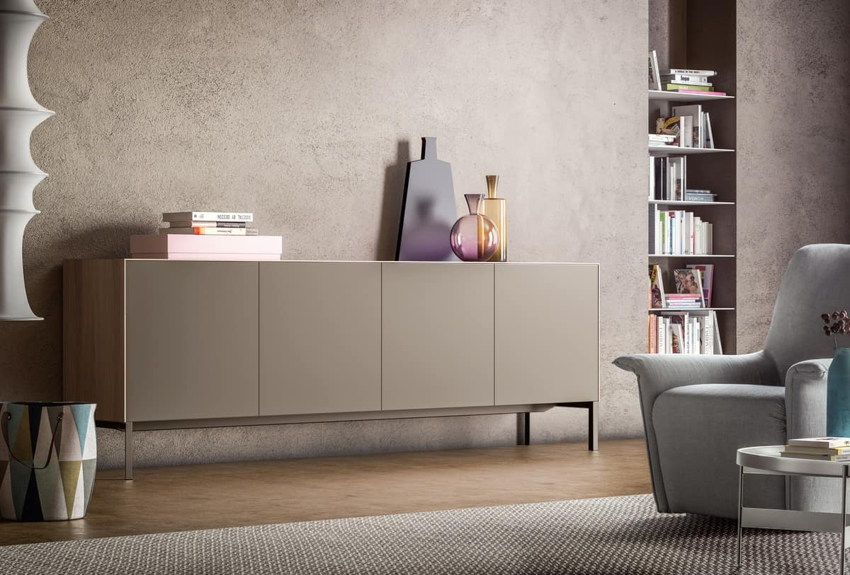 Norma, Sideboard with monolithic appearance