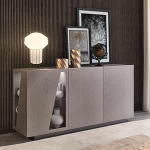 Nova NOVA1337TB, Sideboard with doors with glass inserts