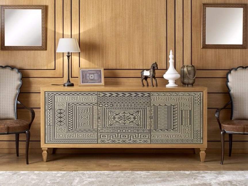 Pompeivm sideboard, Sideboard with push-pull doors