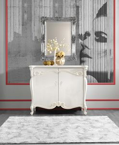 Puccini Art. 7607, Sideboard in lacquered wood