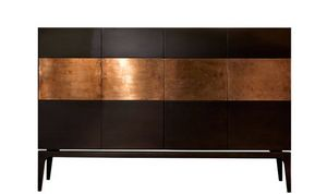 Rame, Cabinet with decorative copper band