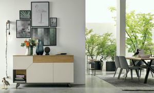Remix, Sideboard with asymmetrical door