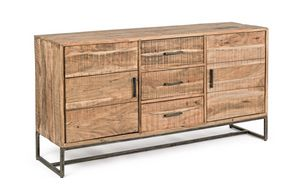 Sideboard 2A-3C Elmer S, Sideboard in rustic style