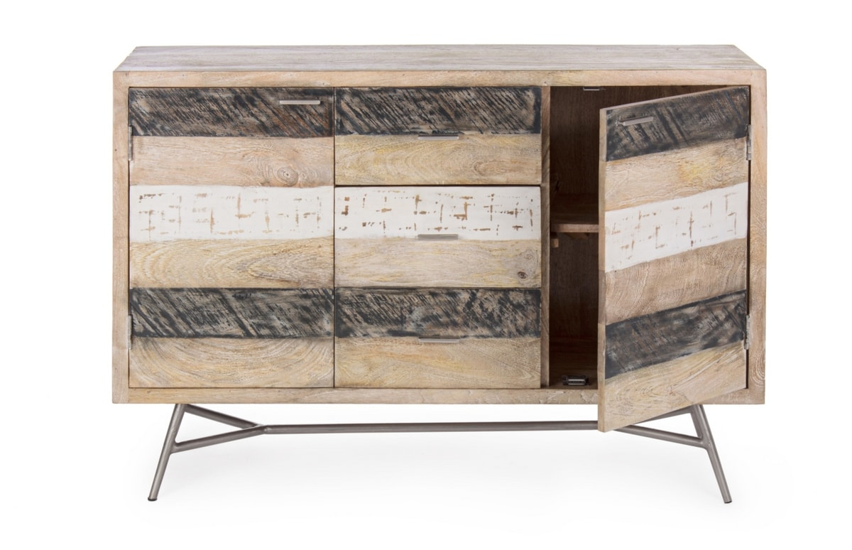 Sideboard 2A-3C Leiston, Sideboard in rustic wood