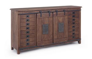 Sideboard 2A-8C Jupiter, Sideboard with a vintage design