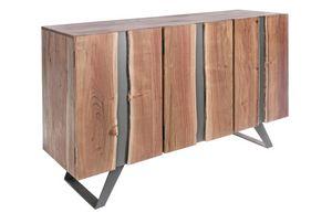 Sideboard 3A Aron, Sideboard in acacia wood and metal